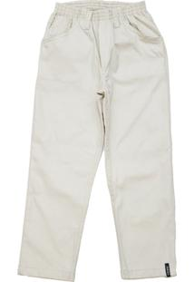 Calça De Sarja Masculina Com Elástico Tóing Areia
