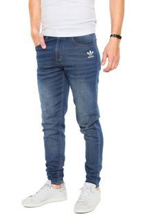 Calça Adidas Originals Ftd 5 Pocket Tp Azul