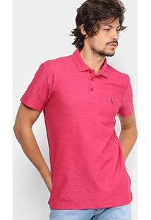 Camisa Polo Reserva Piquet Mesclada Masculina - Masculino dd736d159f49d