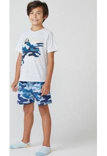 Pijama Infantil Menino Com Estampa