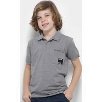 cf7534e85a Camisa Polo Infantil Calvin Klein Bordada Masculina - Masculino
