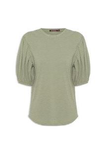 Camiseta Feminina Lourdes - Verde