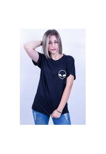 Camiseta Bilhan Corte A Fio Et Pqn Preta