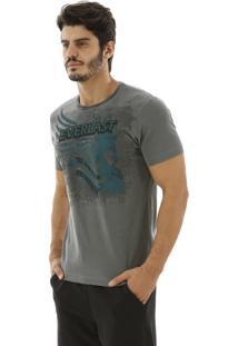 Camiseta Everlast Desenhada Cinza
