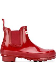Hunter Ankle Boot - Vermelho