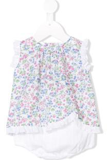 Siola Vestido Floral - Branco