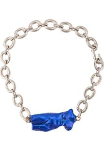 Marni Colar Body Sculpture - Azul