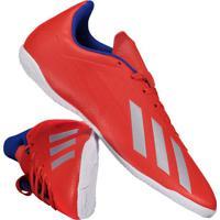 Chuteira Adidas X 18.4 In Futsal Vermelha e4279649745e8