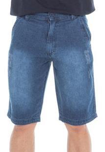 Bermuda Macaw Casual Jeans Masculina - Masculino