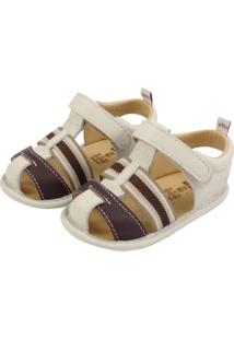 77406f66c Sandália Eva Marfim infantil   Shoes4you