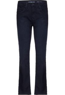 Calça Jeans Five Pockets Skinny - Preto - 4