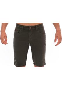 Bermuda Jeans Slim Confort Aee Surf Masculina - Masculino-Verde