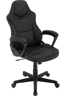 Cadeira Office Gamer Rush-Rivatti - Preto