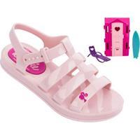 f47247b835 Sandália Infantil Grendene Barbie Casa De Praia