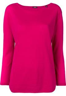 Aspesi Suéter Clássico - Rosa