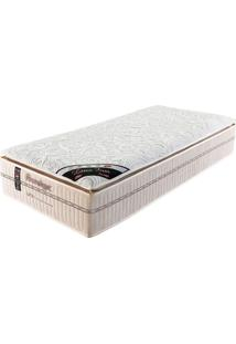 Colchão Solteiro 188X88X36 Mola Latex Firm Pillow Top -Prorelax - Bege