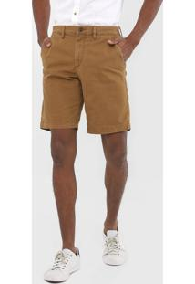 Bermuda Sarja Gap Chino Color Caramelo