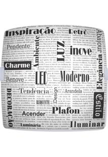 Plafon Quadrado Medio Jornal