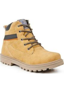 Bota Desert Sandro & Co. Masculina - Masculino-Amarelo