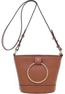 Bolsa Smartbag Transversal - Feminino-Caramelo 5359e151974