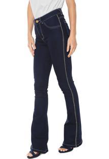 01c6b78e6e Calça Jeans Grifle Company Bootcut Lurex Azul