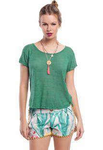 T-Shirt La Mandinne Lisa Verde