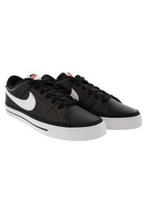 Tênis Nike Court Legacy Casual Masculino Preto