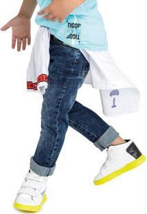 Calça Jeans Azul Menino