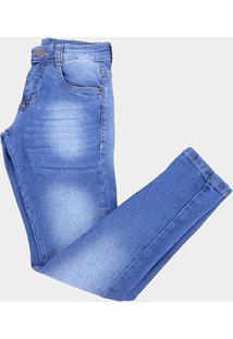 Calça Jeans Juvenil Bnb Básica Masculina - Masculino