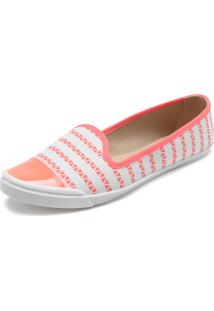 Slipper Moleca Lisa Laranja