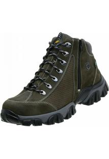 Bota Adventure Alcalay Nobuck Marrom