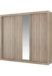 Guarda-Roupa Astor Com Espelho - 3 Portas - Anís