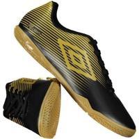 f6386e8e20 Chuteira Umbro F5 Light Futsal Dourada - Masculino