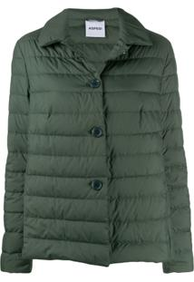 Aspesi Feather Down Jacket - Verde