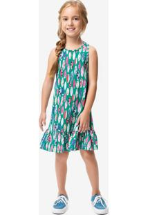 Vestido Peplum Menina Malwee Kids