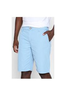 Bermuda Sarja Colcci Chino Bolsos Azul