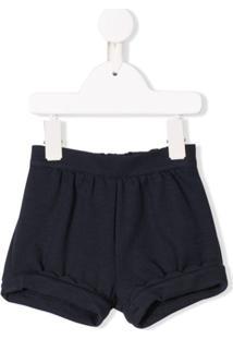 Chloé Kids Short De Jersey - Azul