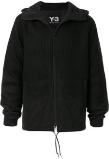 Y-3 Punched Knit Jacket - Preto