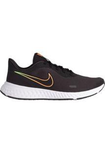 Tênis Masculino Nike Revolution 5 Corrida Preto - 38