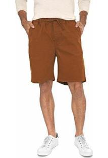 Bermuda Jeans Bloom Jogger Masculina - Masculino-Marrom