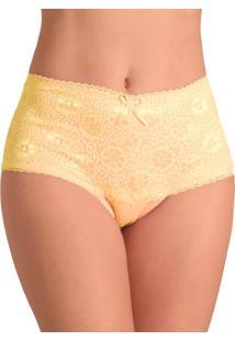 Calcinha Vip Lingerie Modeladora Amarelo