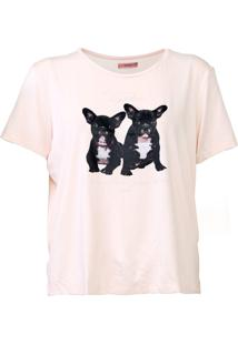 Camiseta Sommer Together Rosa - Kanui