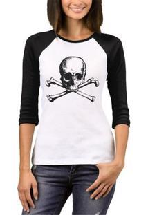 Camiseta Raglan Chess Clothing Feminina - Feminino