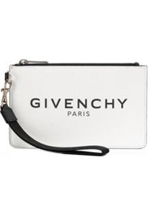 Givenchy Porta-Moedas Com Logo - Branco