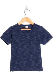 Camiseta Infantil Rovitex Menino Marinho - 1