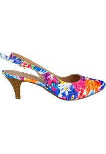 Sapato Chanel Floral Di Santinni 63409020