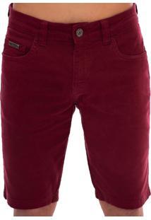 Bermuda Jeans Aee Surf Slim Confort Vinho