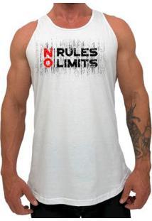 Regata Longline Mxd Conceito No Rules No Limits Masculina - Masculino