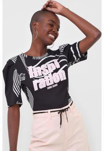 Camiseta Coca-Cola Jeans Inspiration Preta