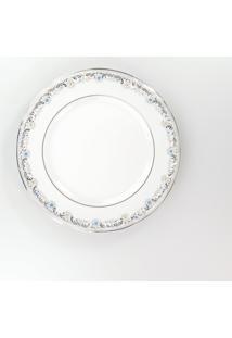 Conjunto De Pratos Para Sobremesa Porcelana Schmidt 06 Peças - Dec. Saint German